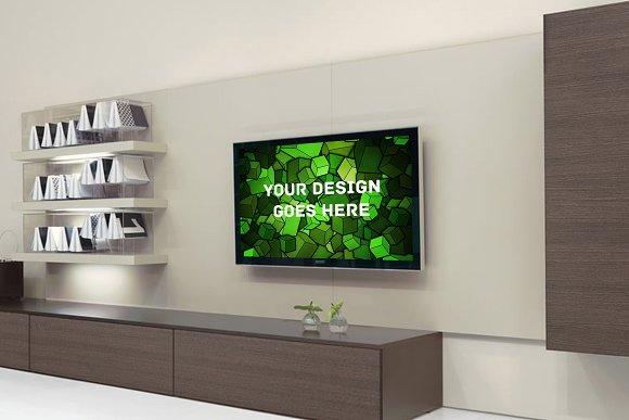Download Television Display Mock-up#8