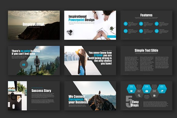 inspirational powerpoint template presentation templates