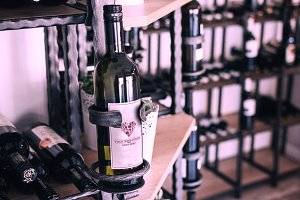 Wine Label Mock-up#2