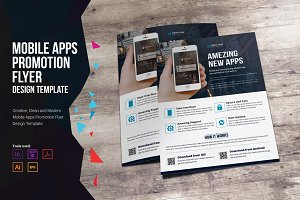 Mobile Apps Promotion Flyer
