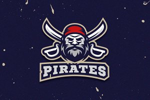 Pirates Logo and Mascot
