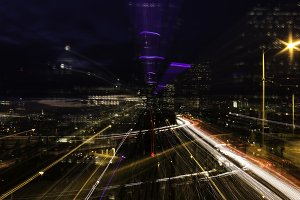 Seattle Light Trails