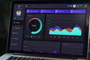 Sketch Web Dashboard UI