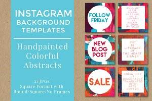 Abstract Social Media Backgrounds