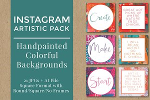 Instagram Background Pack