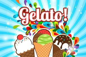 Ice Cream fest poster