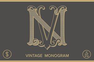 NV Monogram VN Monogram