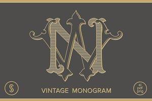 NW Monogram WN Monogram