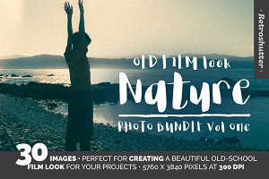 Old Film-Look Nature Images Vol One