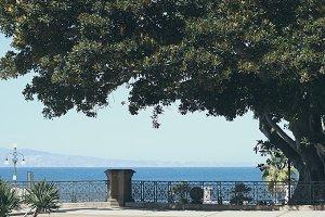 View of Lungomare Reggio Calabria