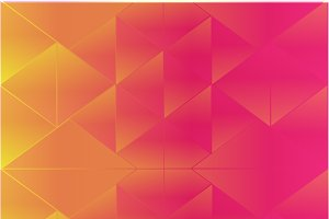 Abstract background triangle pink
