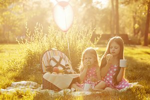 Sisters picnic.