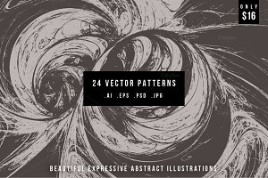 24 Vector Patterns