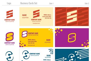 Business vector card templates