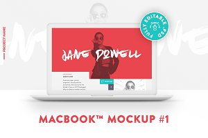 MacBook™ Mockup #1