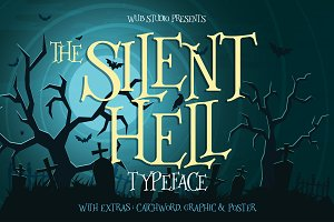 Silenthell Typeface + Bonus