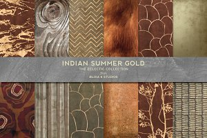 Indian Summer Gold Backgrounds