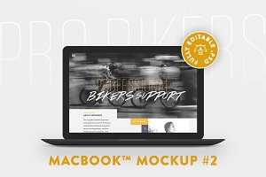 MacBook™ Mockup #2
