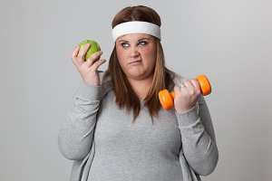 Annoyed by exercise and diet