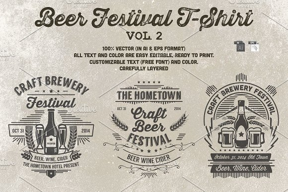 Beer Festival T-Shirt Vol. 2