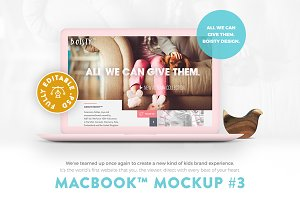 MacBook™ Mockup #3