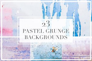23 Pastel Grunge Texture Backgrounds