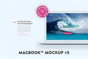 MacBook™ Mockup #5