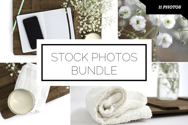 Spa Inspired Stock Photo Bundle