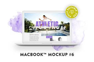 MacBook™ Mockup #6