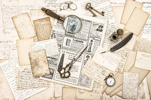 Antique office accessories JPG