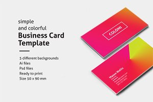 COLOMI - Business Card