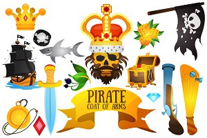 Pirate emblems