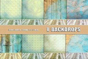 8 SABBY CHIC PHOTO BACKGROUNDS