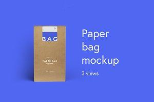 BAG - Paper Bag Mockup