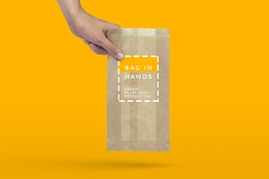 Handy Bag Mockup