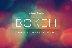 Bokeh Grunge Backgrounds v6