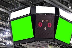 Scoreboard At The Stadium - Footage