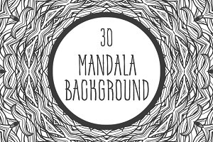 30 mandala backgrounds