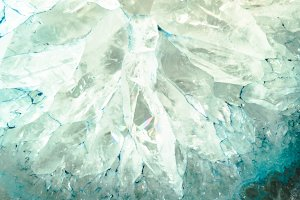 Blue Agate Slice Texture