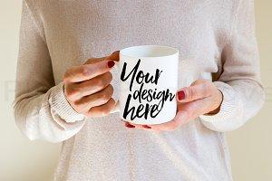 2 Styled Stock Mug Image mock ups