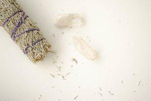 Crystal Sage Flay Lay 1