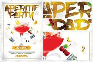 Aperitif Party Flyer
