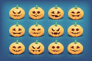 Halloween pumpkins - Jack-o-lantern