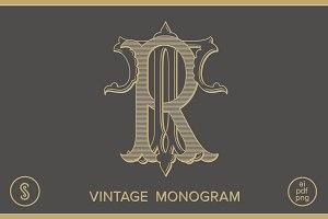 RT Monogram TR Monogram