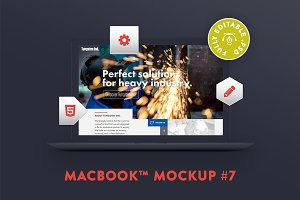 MacBook™ Mockup #7