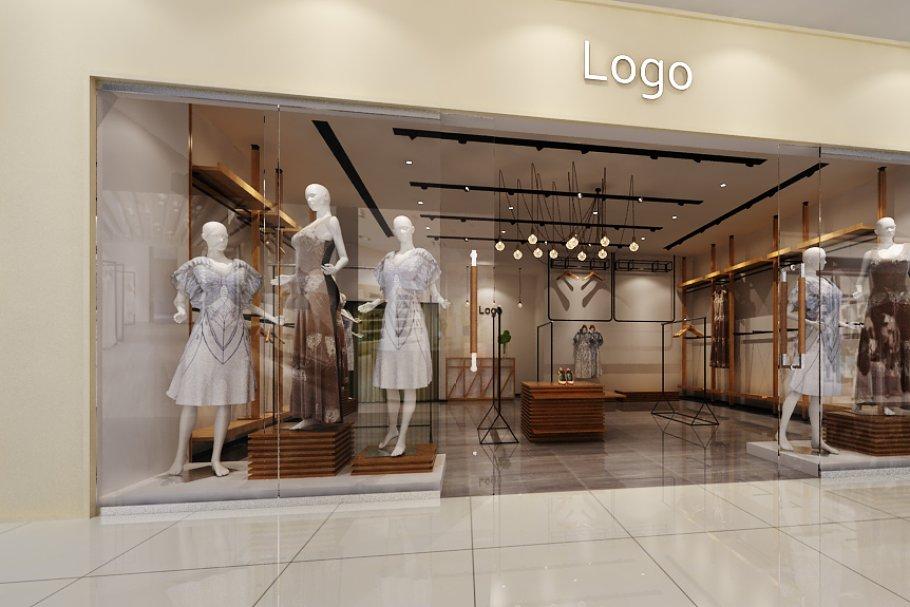 Store Shop interior in Mall