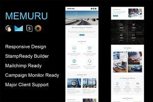 MEMURU - Responsive Email Template