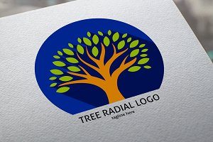 Tree Radial Logo