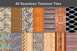 Seamless Textures Tiles in JPEG