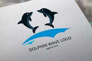 Dolphin Wave Logo
